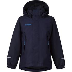 Bergans Kids Storm Insulated Jacket Navy/Dark Navy/Athens Blue